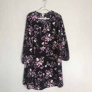 Women's plus size floral dress
